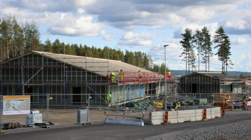 ByggPartner bygger ett nytt gruppboende för Falu kommun