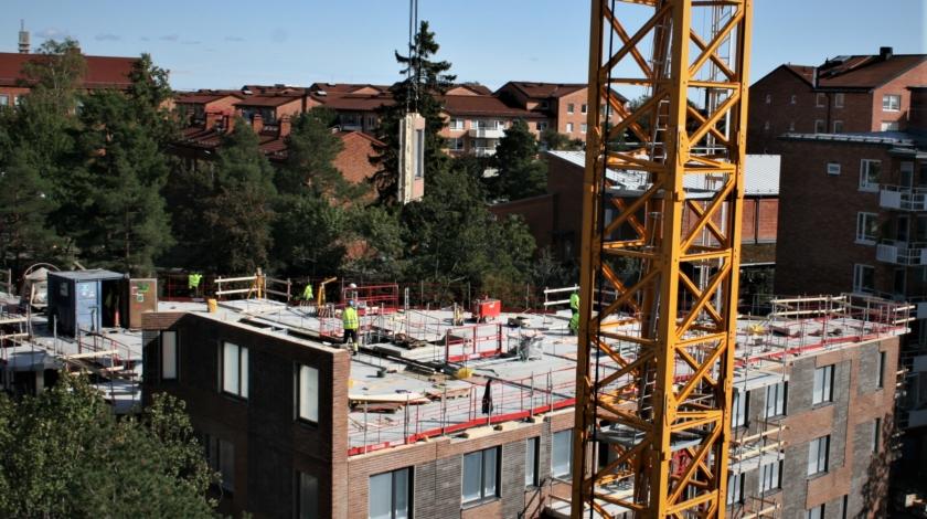 ByggPartner bygger hyreshus i Hägerstensåsen