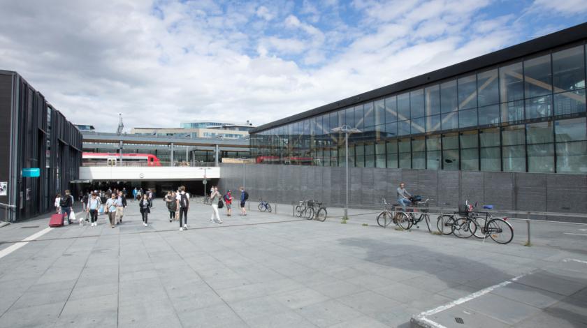 ByggPartner har byggt ett cykelparkeringshus i Uppsala