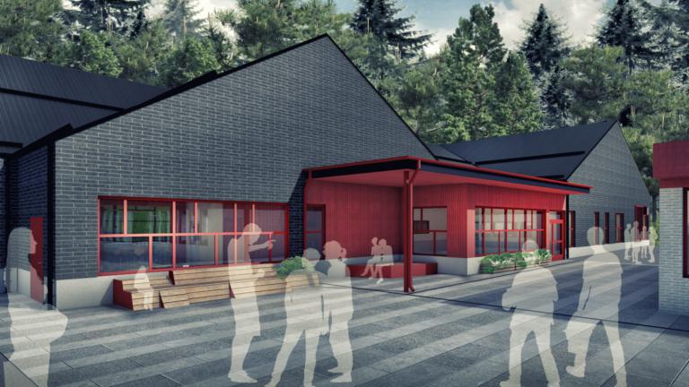 Ribbybergsskolan Västerhaninge ByggPartner Tornberget