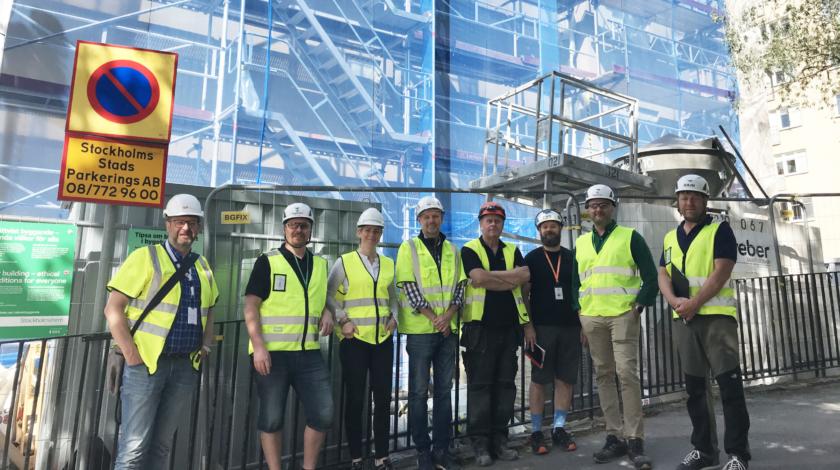 Renoveringen av kvarteret Sparren på Södermalm i Stockholm genomfördes i partnering med Stockholmshem och ByggPartner